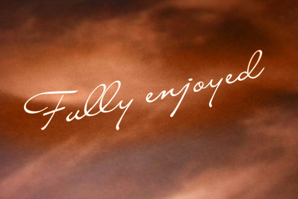 Fully Enjoyed