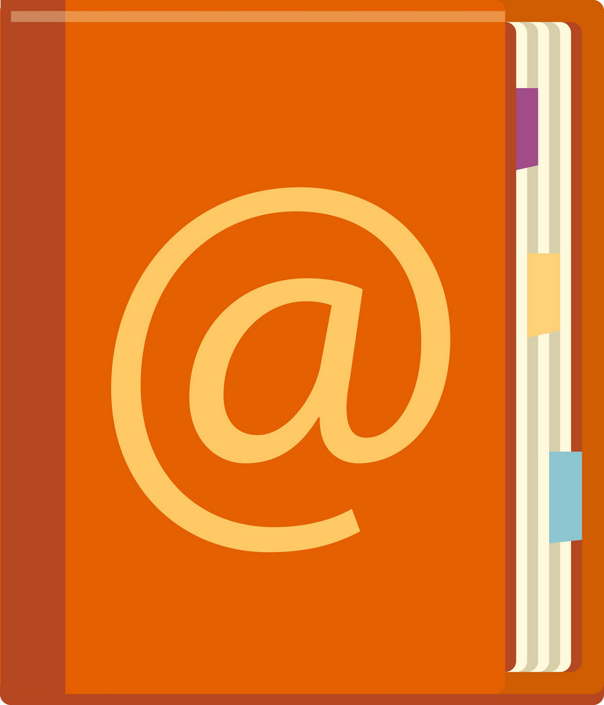 Funky Address Book Icon
