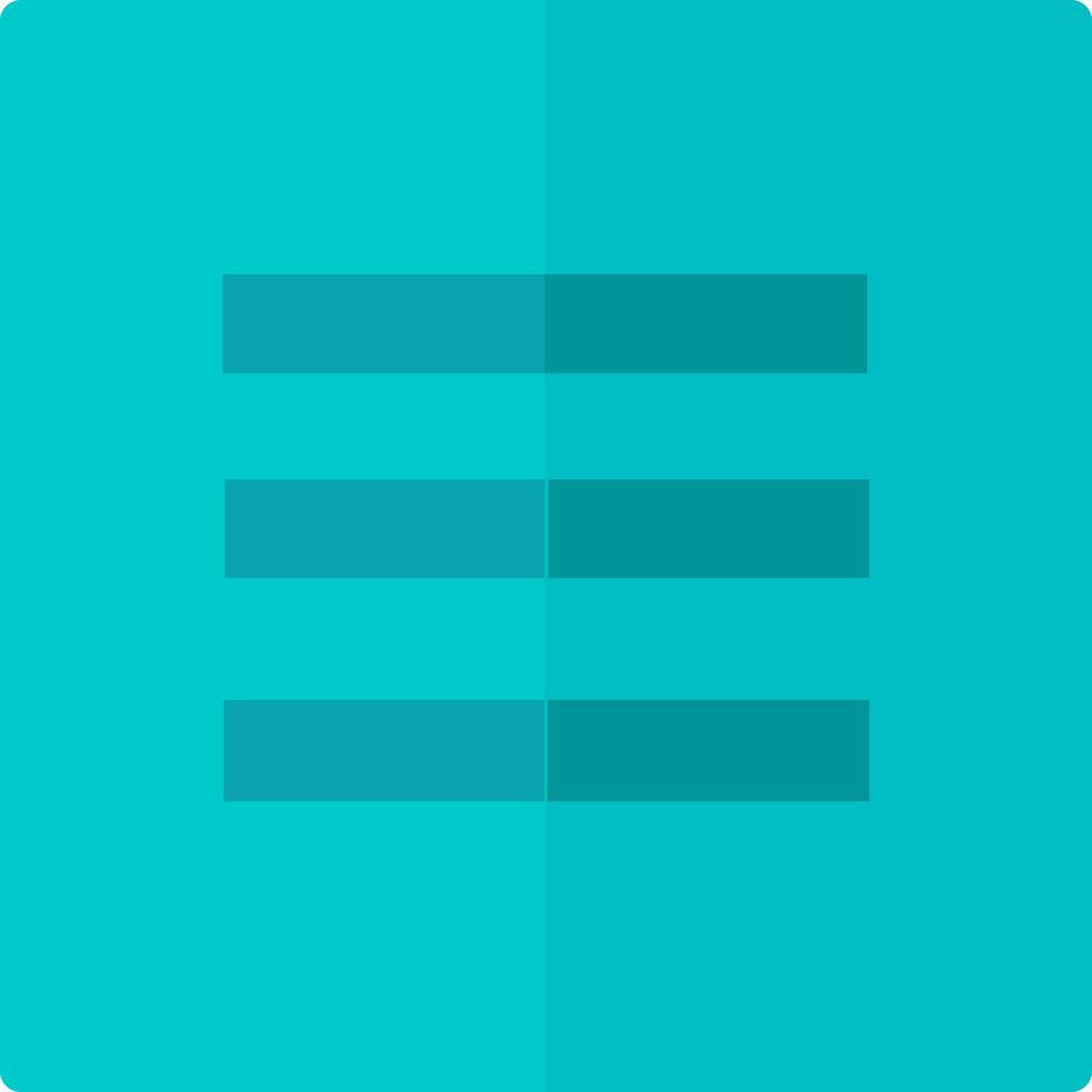 Funky Align Button Icon