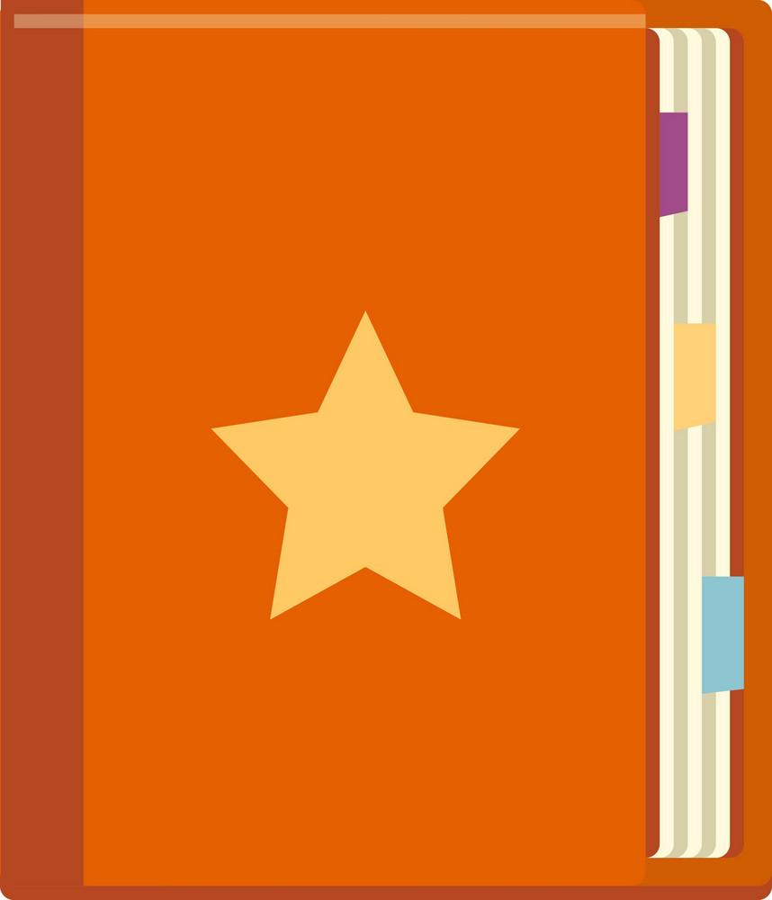 Funky Bookmark Icon