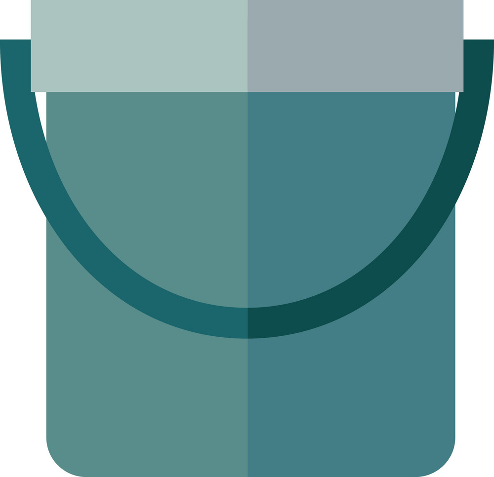 Funky Bucket Icon