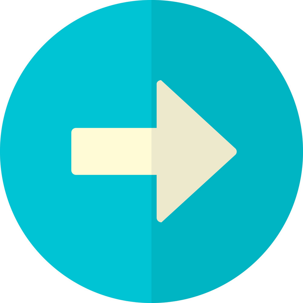 Funky Button Arrow Right Icon