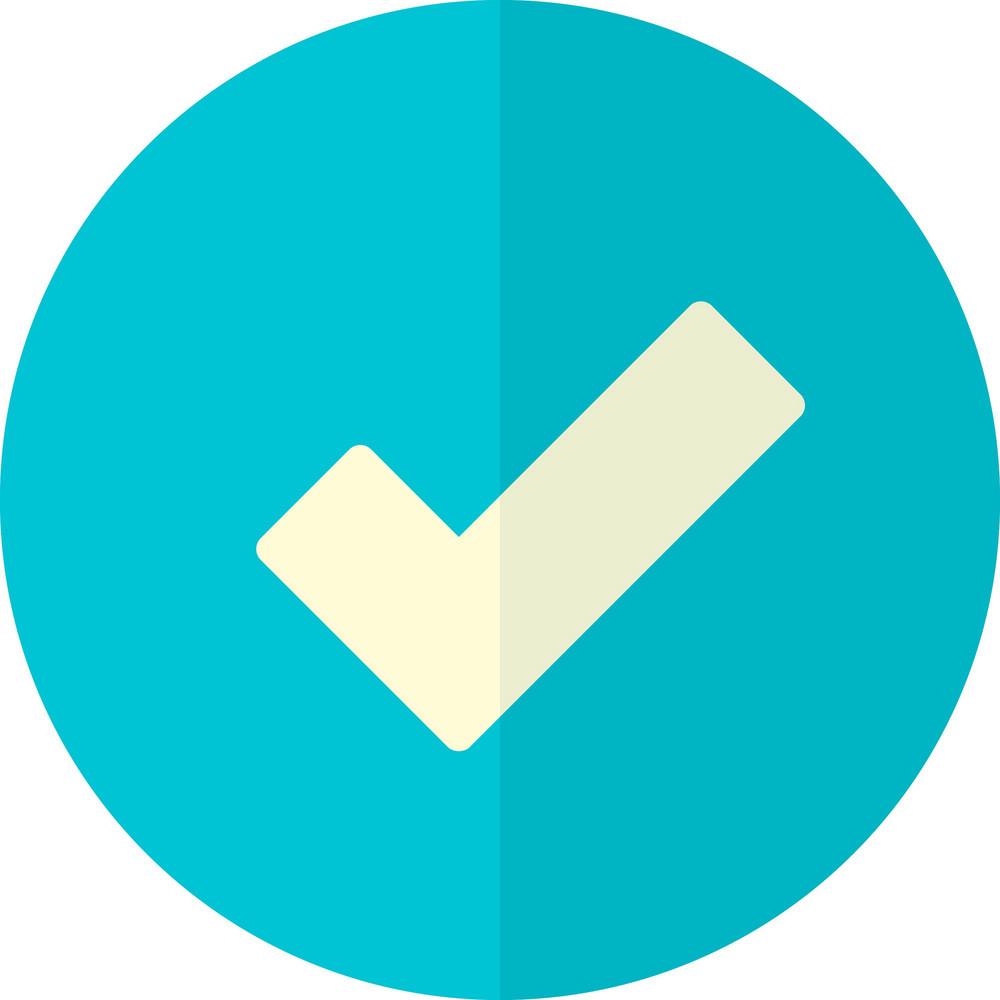 Funky Button Check Icon