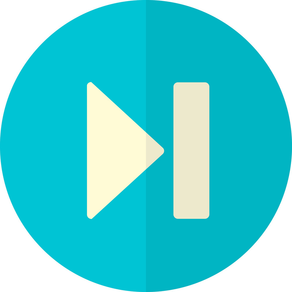 Funky Button Next Icon