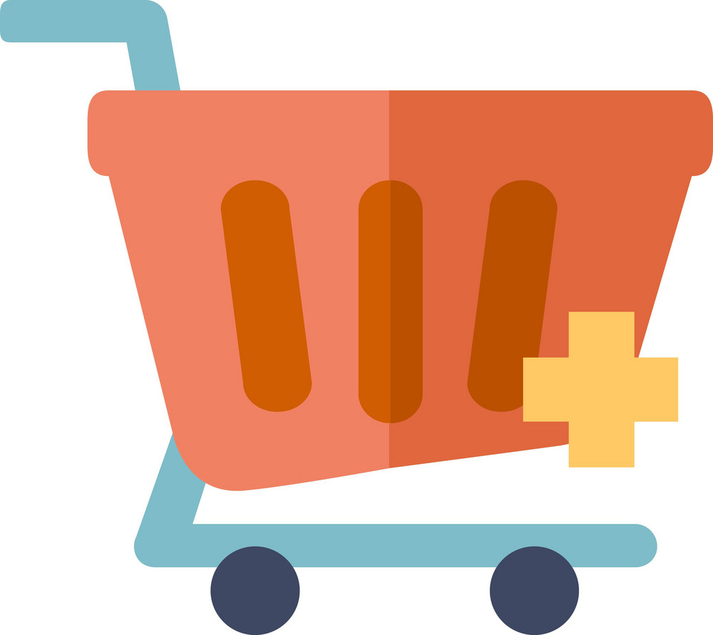 Funky Cart Add Icon