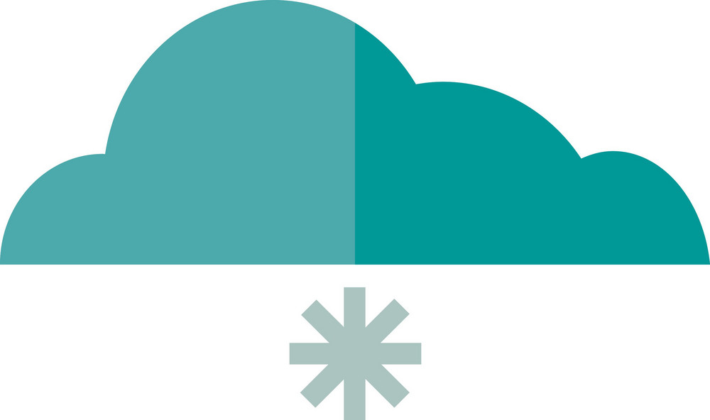 Funky Cloud Snow 1 Icon