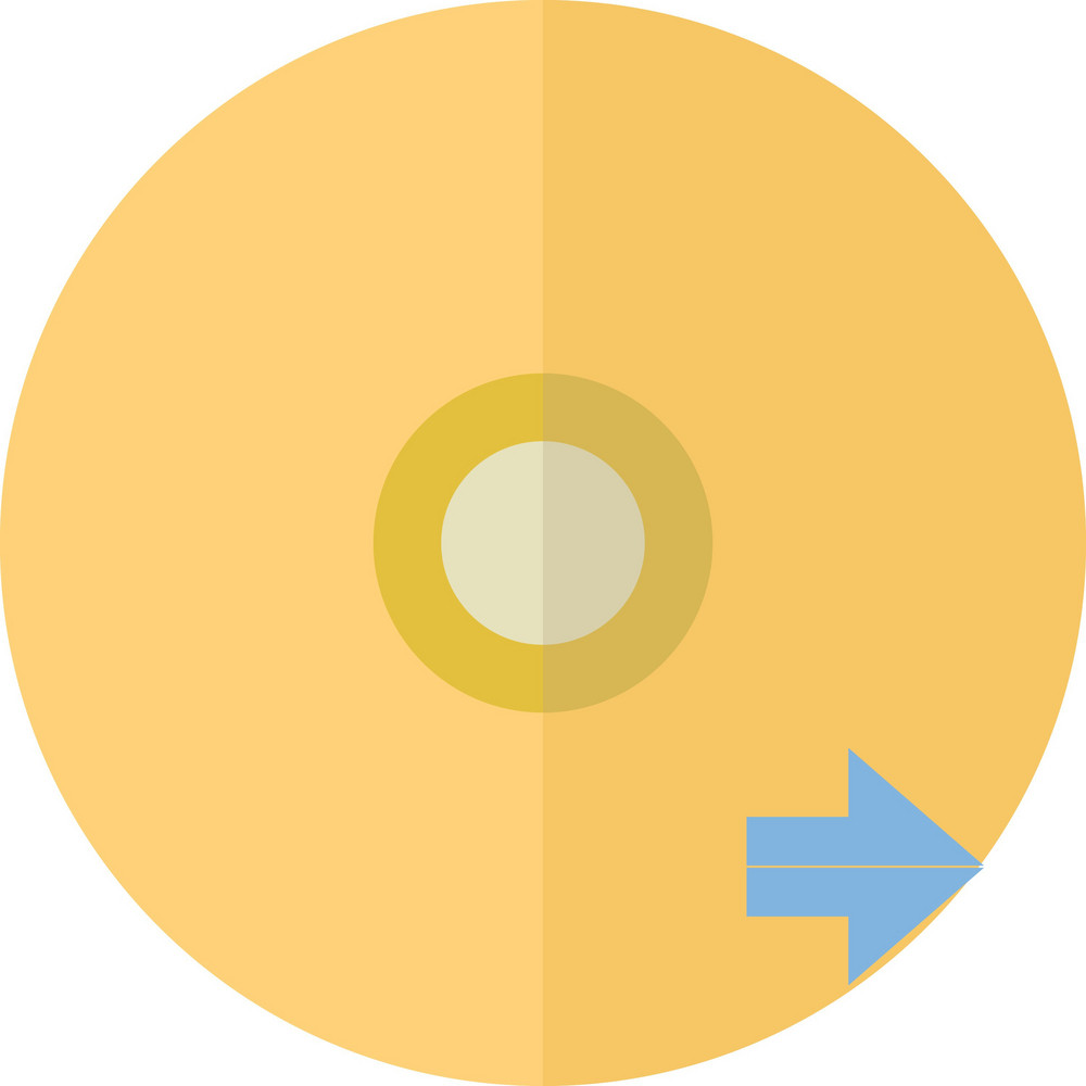 Funky Disc Next Icon
