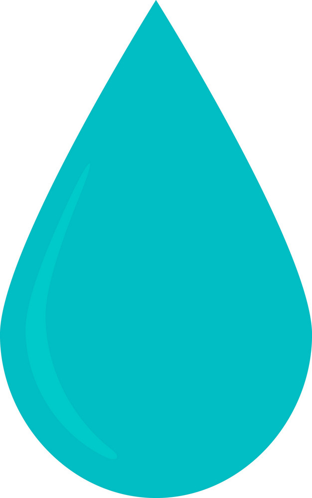 Funky Drop Water Icon
