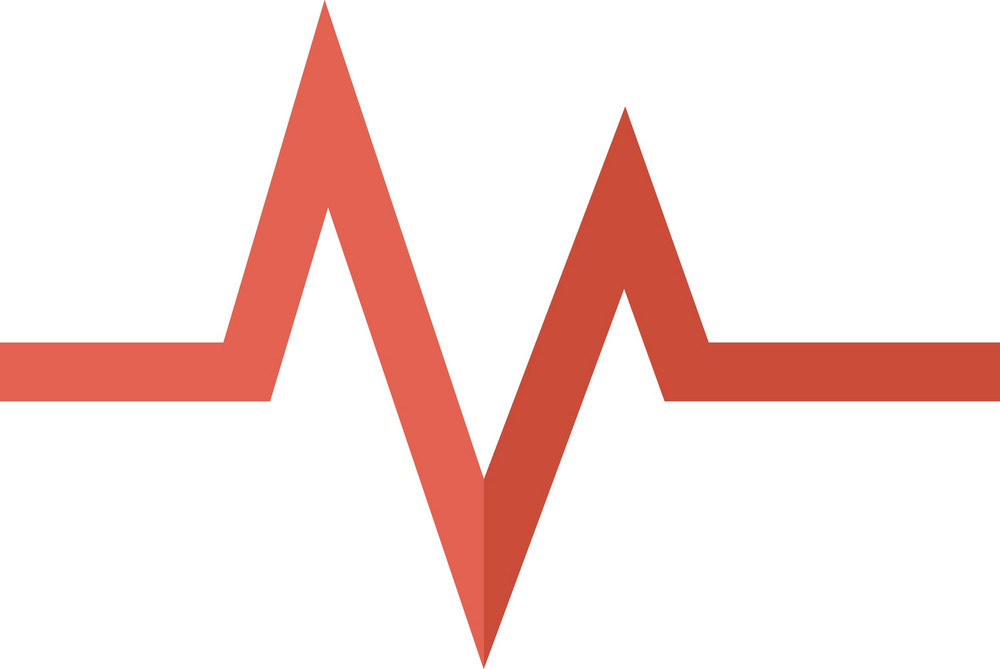 Funky Electrocardiogram Icon