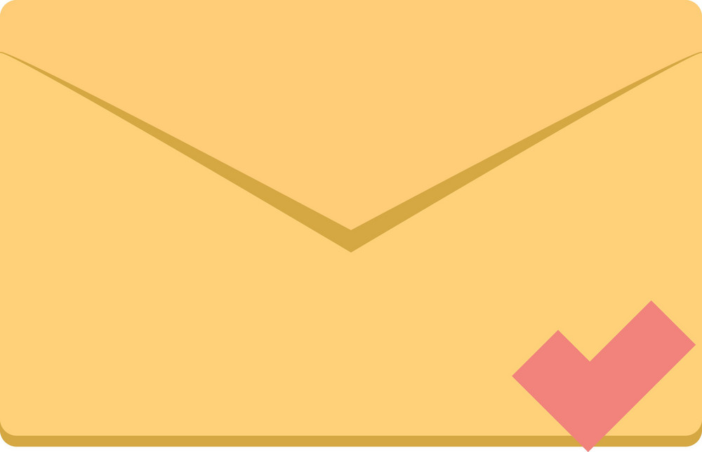 Funky Email Check Icon