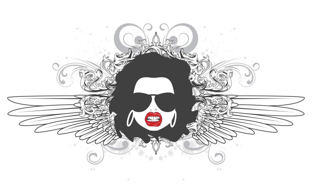 Funky Face Emblem