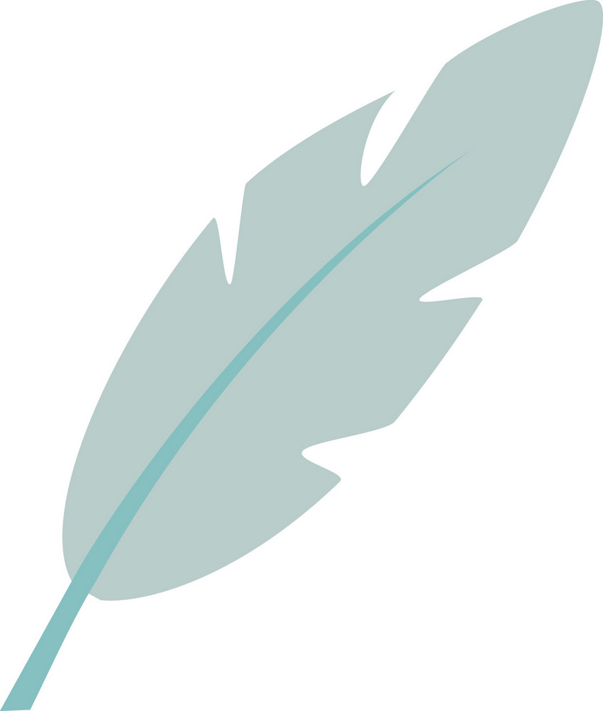 Funky Feather Icon