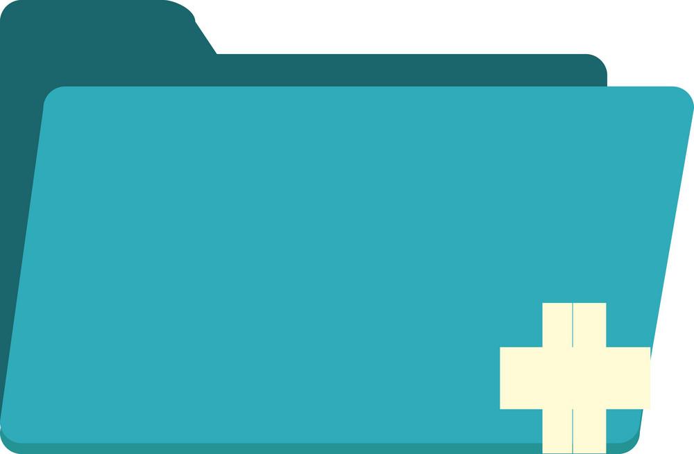 Funky Folder Add Icon