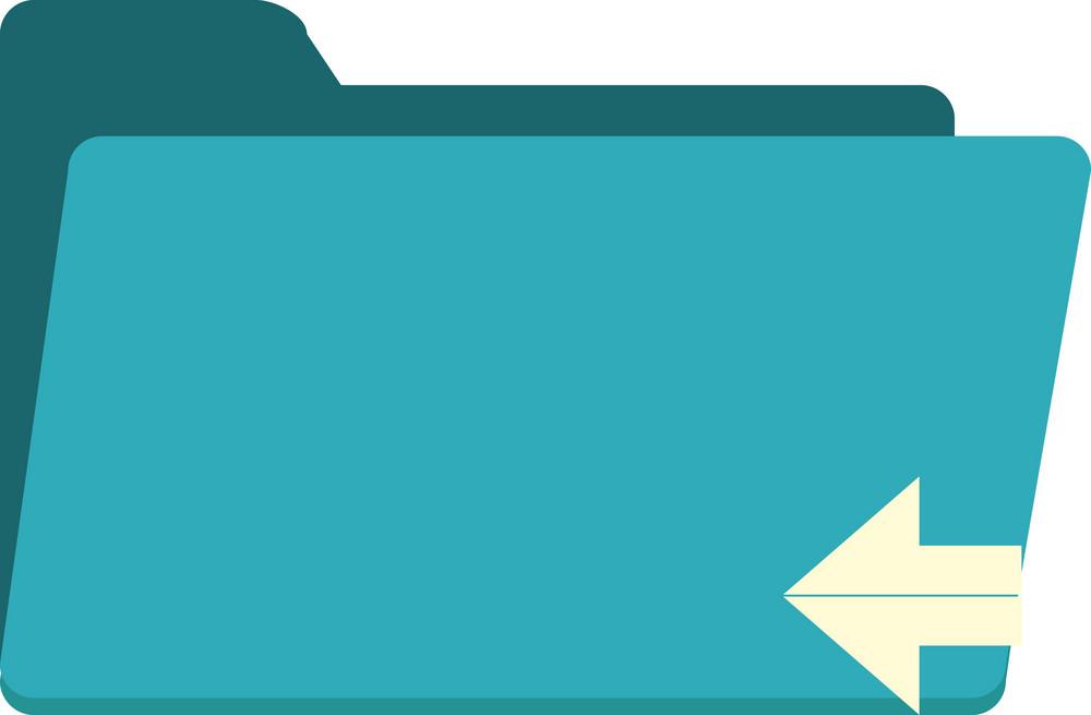 Funky Folder Back Icon