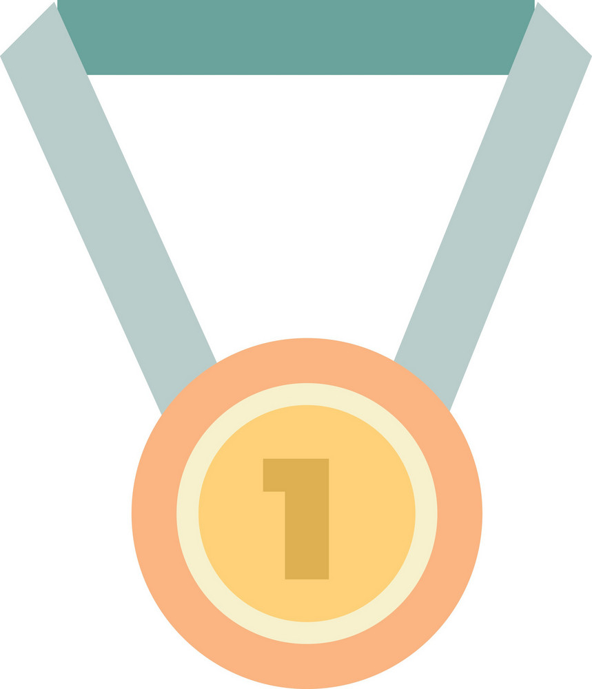 Funky Medal Icon