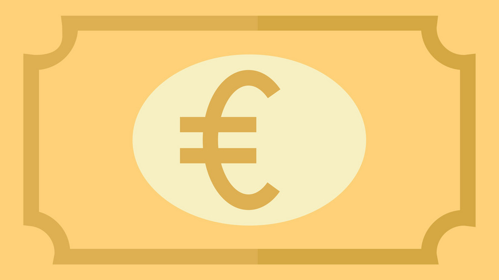 Funky Money Euro Icon