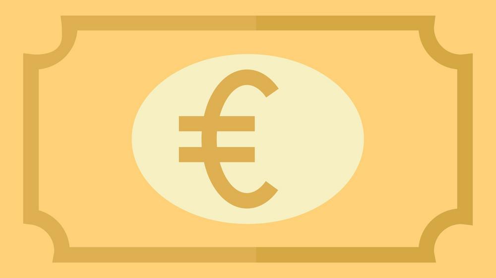 Funky Money Euro Icon