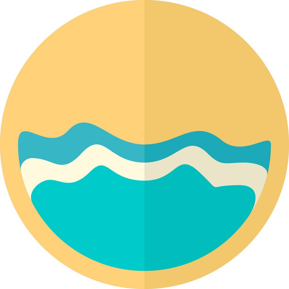 Funky Ocean Icon