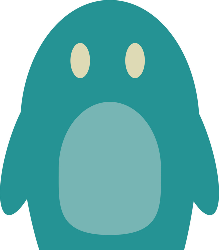 Funky Penguin Icon
