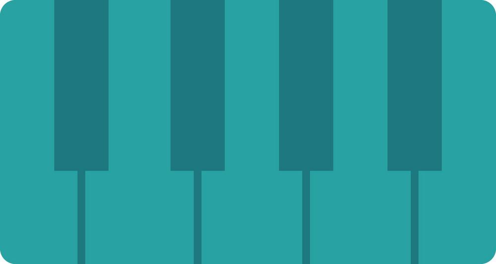 Funky Piano Icon