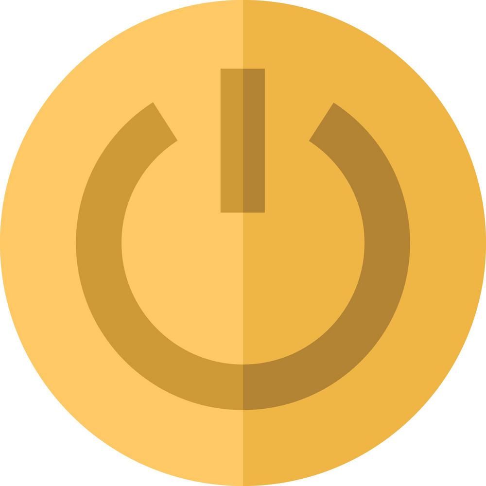 Funky Shut Down Icon