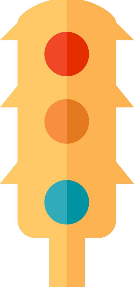 Funky Traffic Light Icon