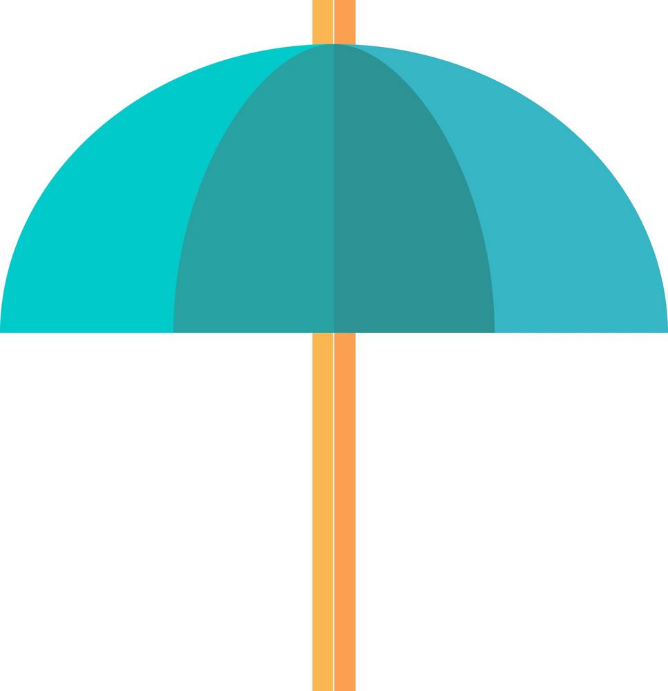 Funky Umbrella Icon