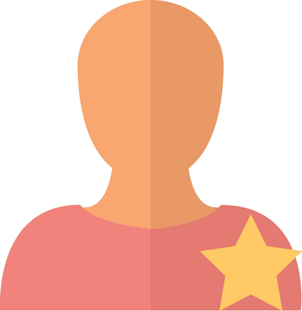 Funky User Star Icon
