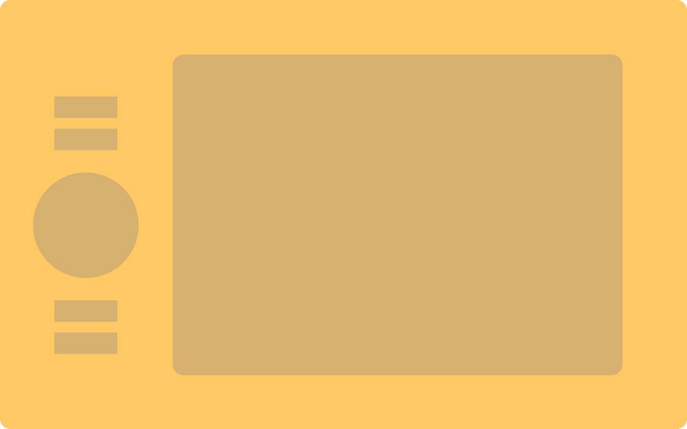Funky Wacom Tablet Icon