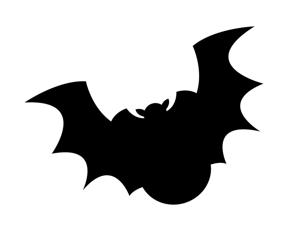 Funny Bat Bird Flying Shape