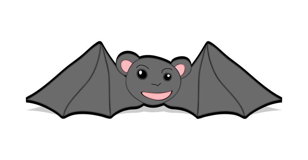 Funny Cartoon Bat