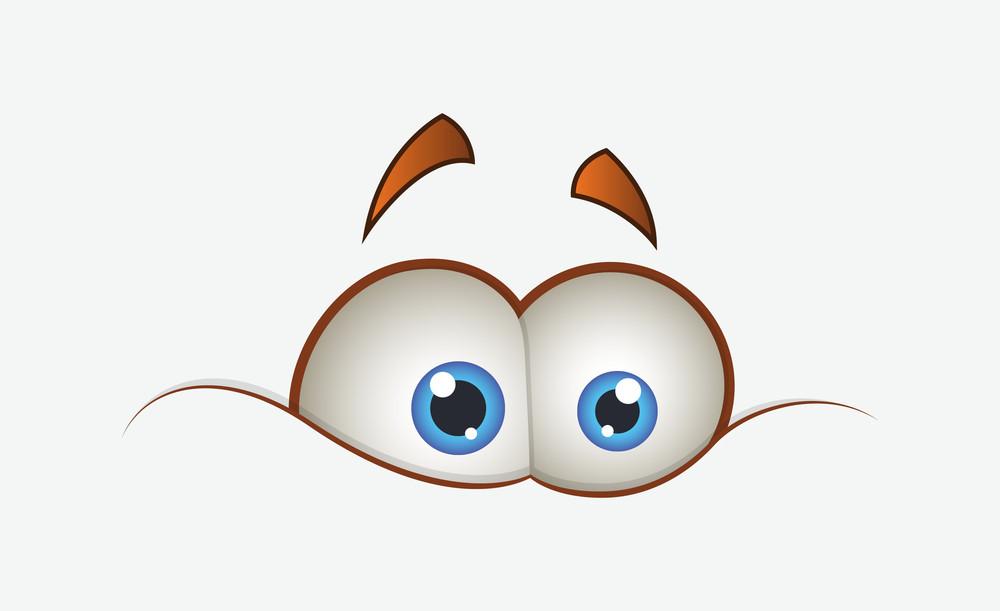 Funny Cartoon Eyes