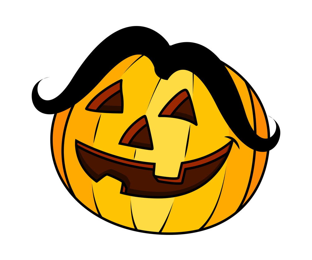 Funny Jack O' Lantern - Halloween Vector Illustration