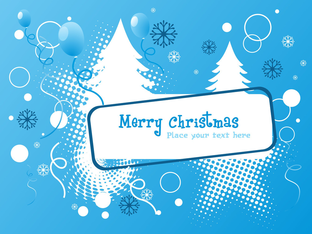 Funny Merry Christmas Background
