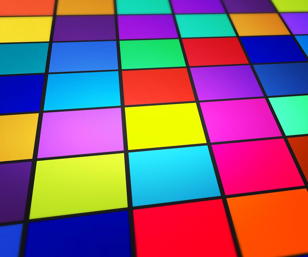 Futuristic Floor Background