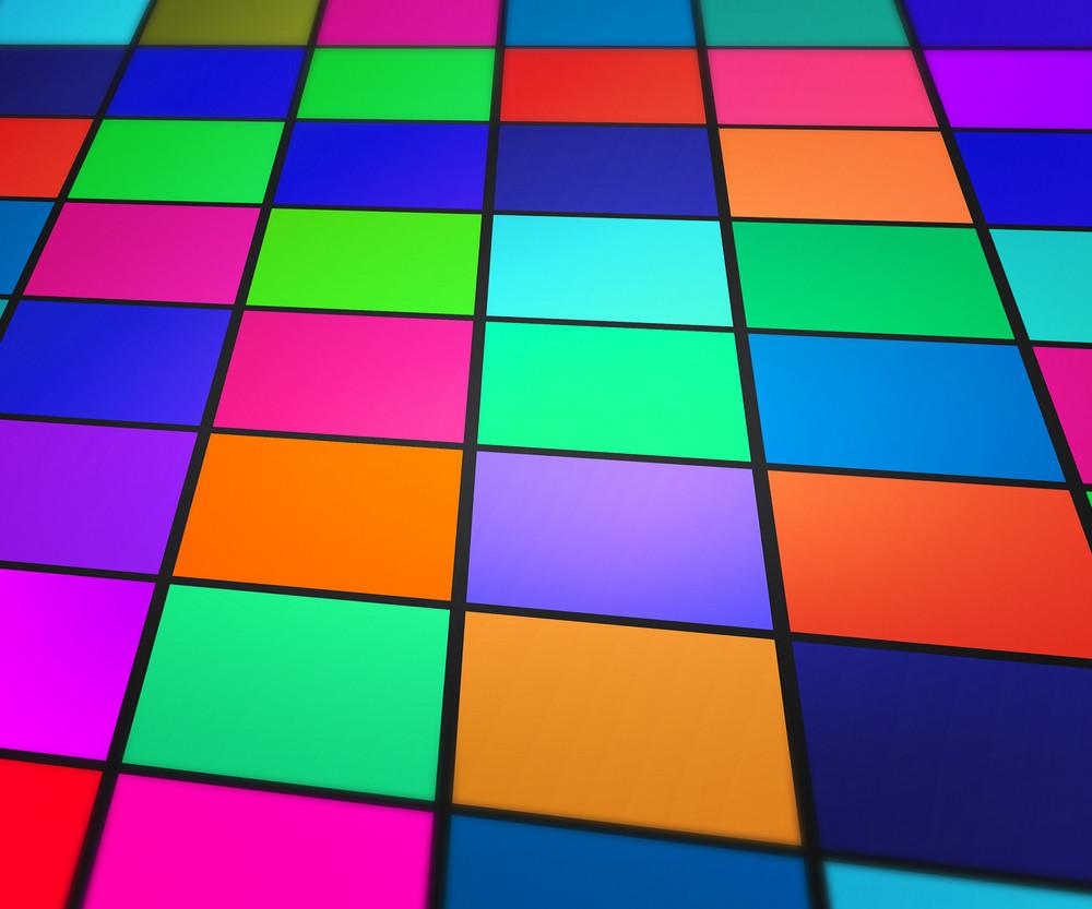 Futuristic Geometric Background