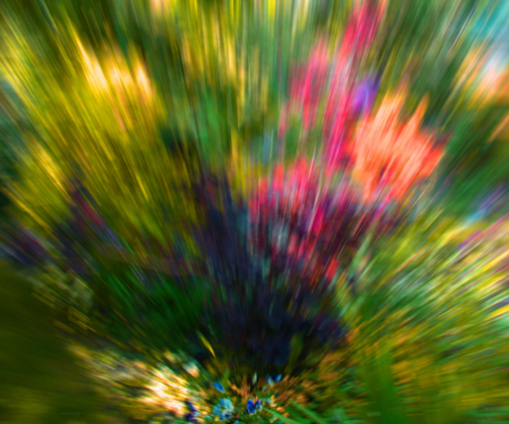 Garden Abstract Background