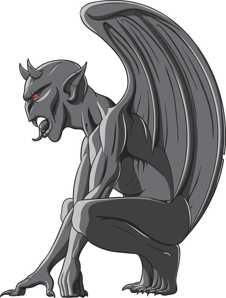 Gargoyles Vector Element
