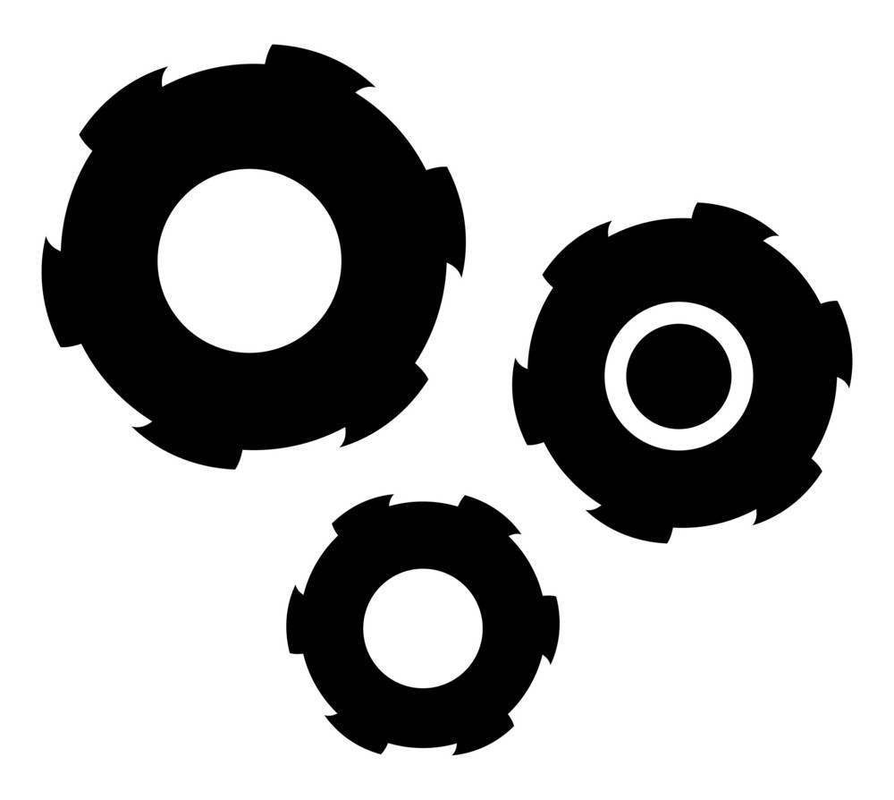 Gears Vector Shapes