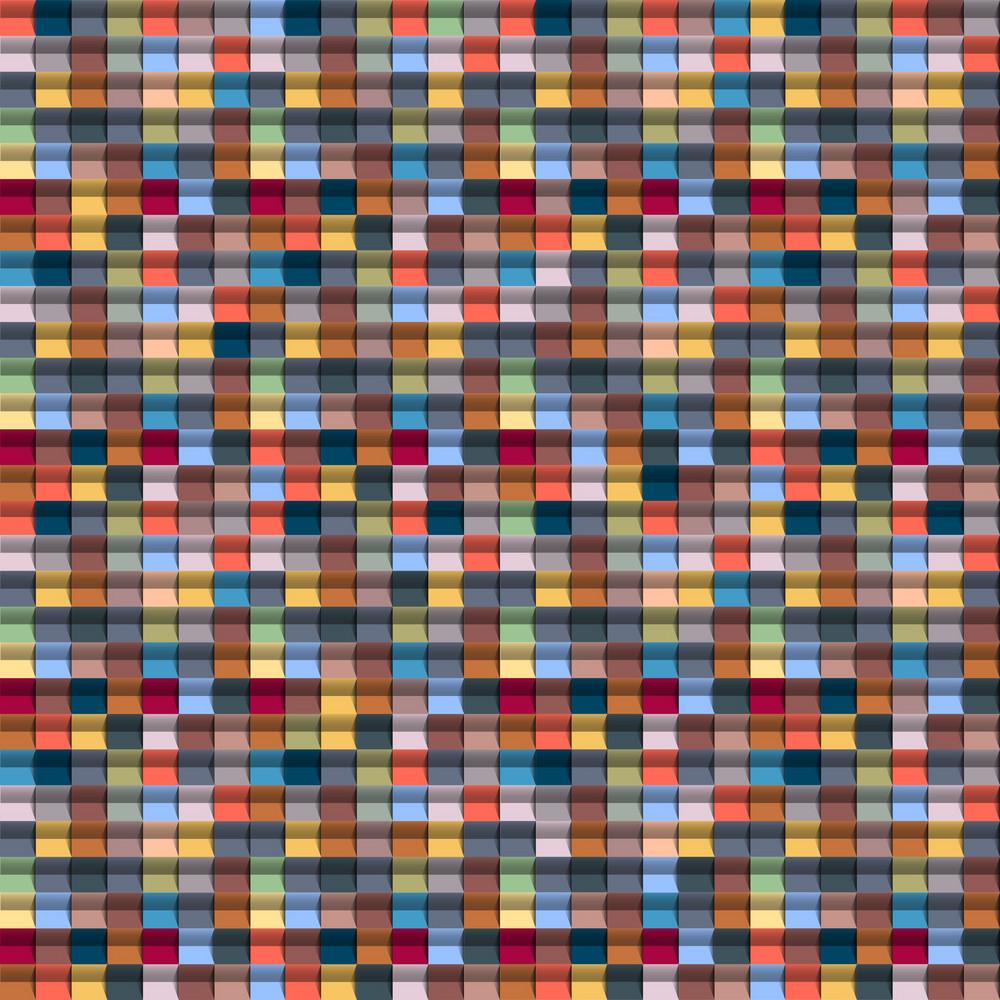 Geometric Multicolored Background
