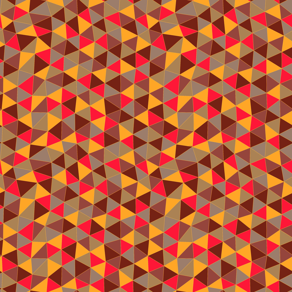 Geometric Pattern. Texture With Triangles.mosaic. Abstract Hand-drawn Pattern
