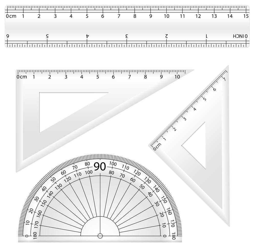 Geometry Rulers Vectors