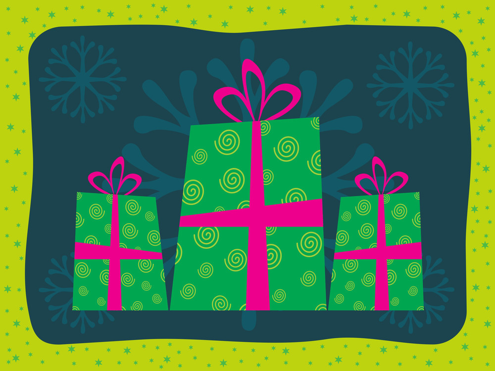 Gift Bag With Background