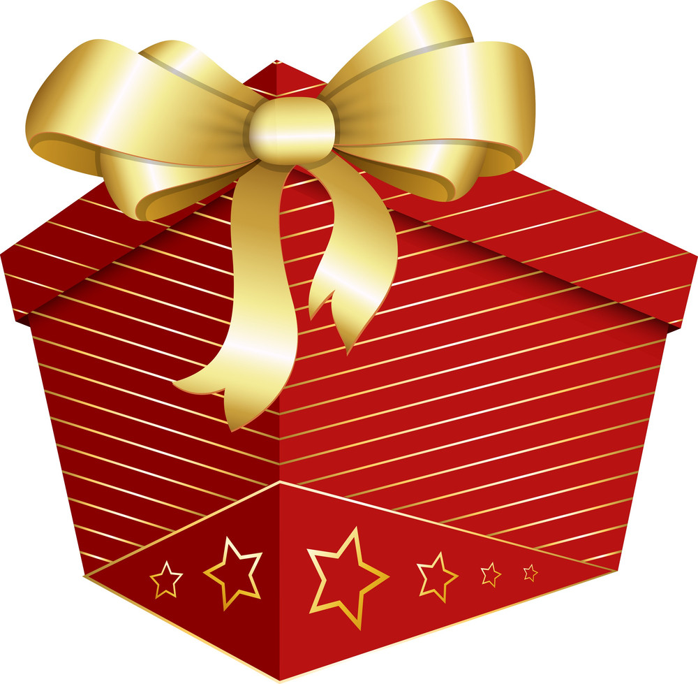 Gift Box - Christmas Vector Illustration