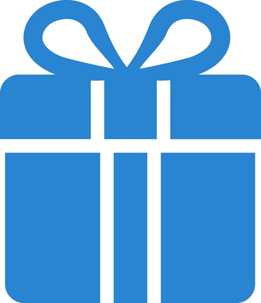 Gift Box Simplicity Icon
