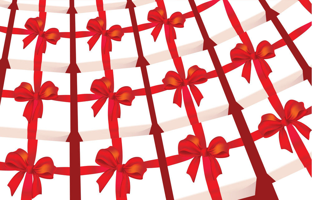 Gift Boxes. Vector.