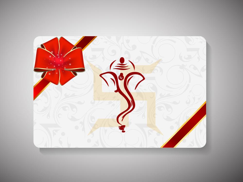 Gift Card For Deepawali Or Diwali Festival In India.
