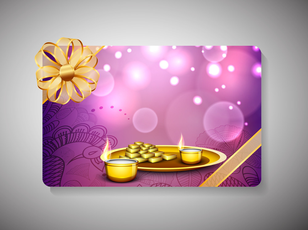 Gift Card For Deepawali Or Diwali Festival In India