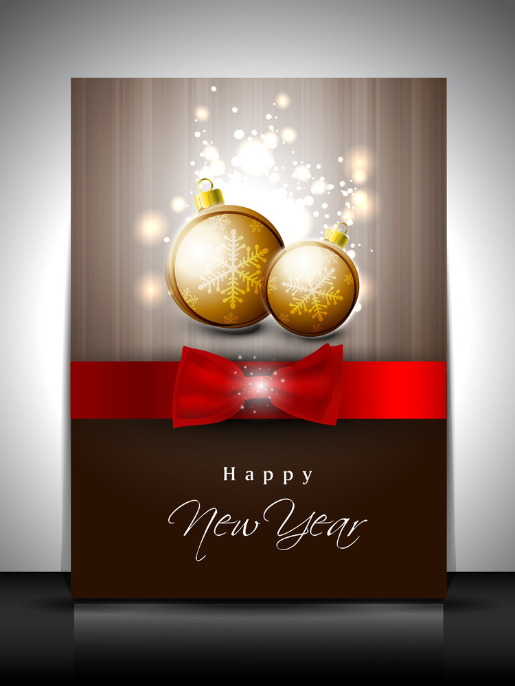 Gift Card For Happy New Year Celebration