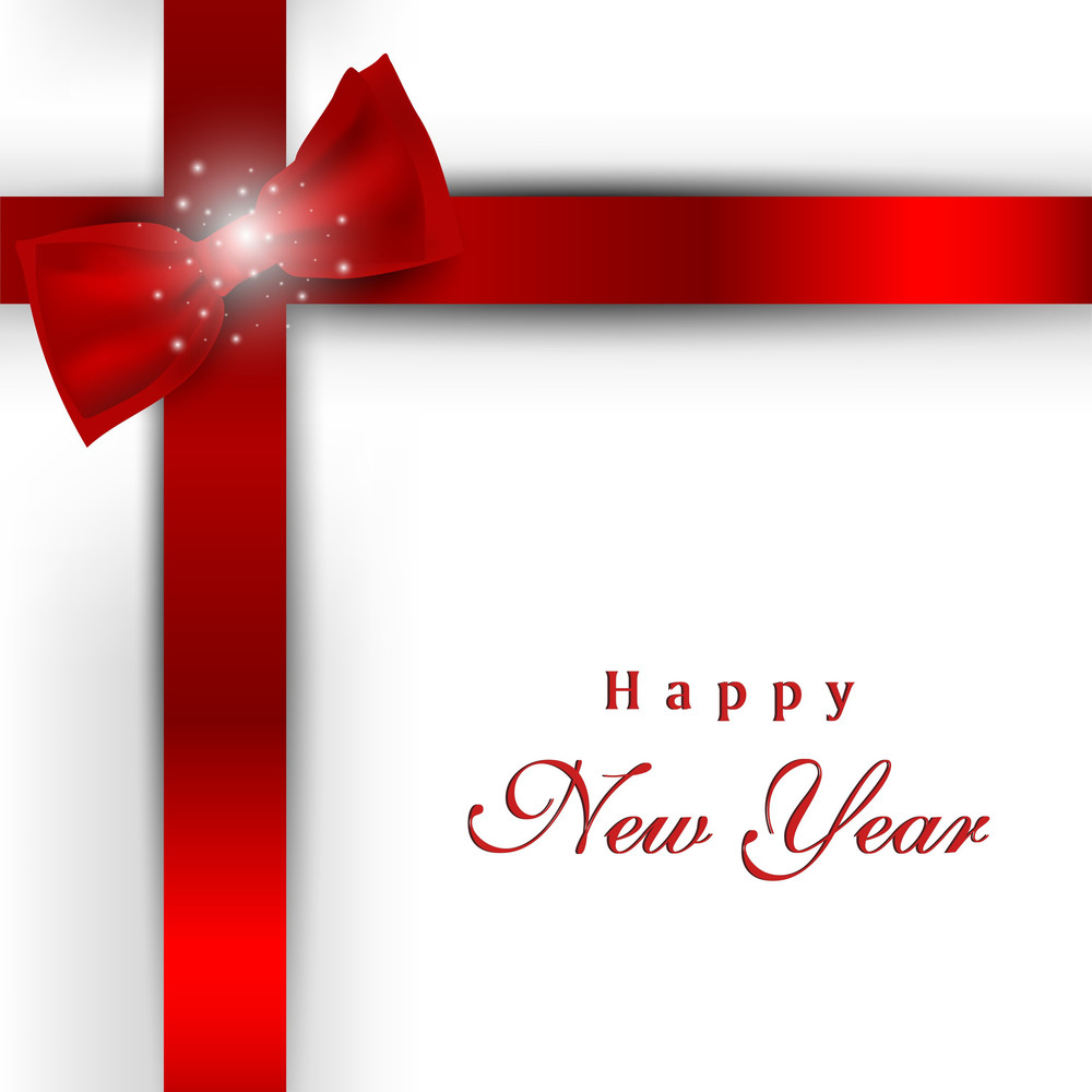 Gift Card For Happy New Year Celebration Royalty Free Stock Image